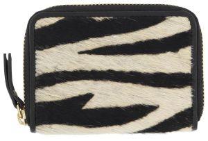 HEMA Portemonnee Zebra Zwart/wit
