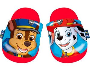 Nickelodeon Badslippers Paw Patrol Jongens Rubber Rood Mt 32-33