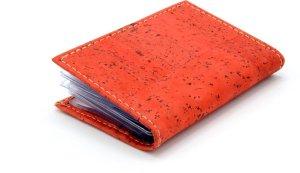 Pasjeshouder - Premium - Kurk - Creditkaarthouder - Portemonnee voor passen - Rood - Gemaakt in Portugal