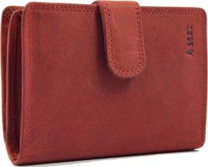 Portemonnee buffelleer- portemonnee met veel pasjes - Portemonnee heren - Portemonnee - Portemonnee Kwaliteit - Unisex portemonnee - Rood
