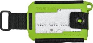 Trayvax Axis Zombie Green. pasjeshouder, metaal, RFID