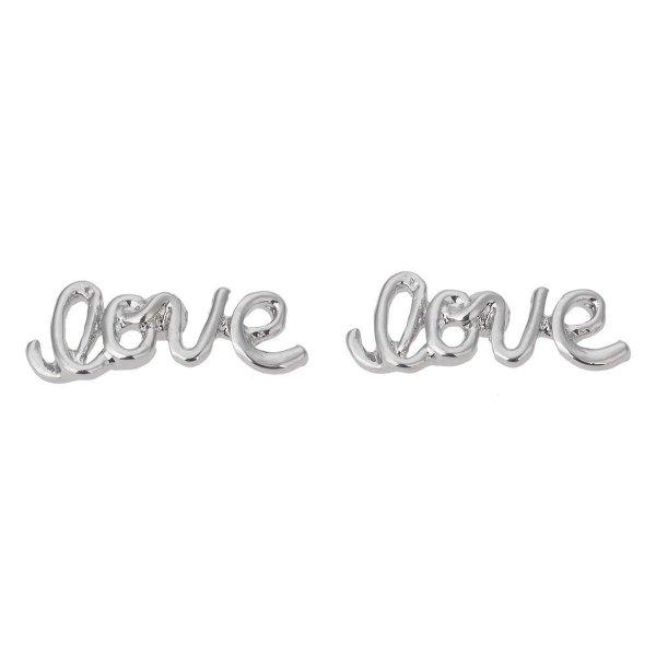 Juleeze Oorbellen JZEA0334 - Zilverkleurig Zink Oorbellen DamesOorhangers