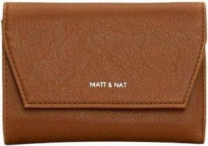 Matt & Nat Portemonnee Verasm Vintage - Chili | Duurzame productie | Vegan Leer