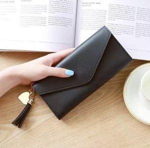 Xslim Dames Portemonnee - Portefeuille - Zwart