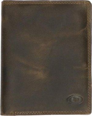 Leather Design Paspoort Portemonnee Hunter Groen
