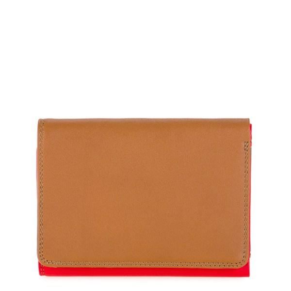 Mywalit Medium Tri-Fold Wallet Portemonnee Caramel