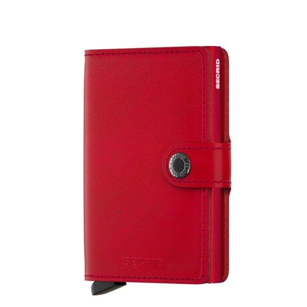 Secrid Mini Wallet Portemonnee Original Red / Red