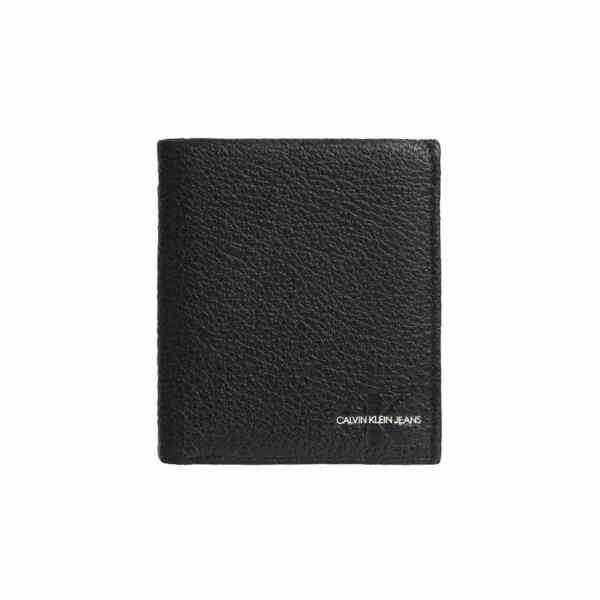 Calvin Klein - N/s Trifold W/coin - Portemonnee Heren - Black