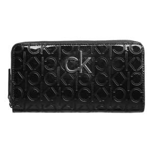 Calvin Klein - Re-lock Em Ziparound Lg - Dames - Black