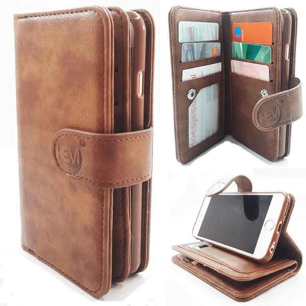 Samsung J4 Plus - Bronzed Brown - Pasjeshouder - Telefoonhoesje met