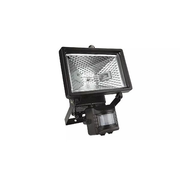 Topex 94W022 Bouwlamp + Sensor 150W Zwart, IP 44