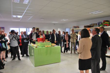 inauguration épicerie solidaire