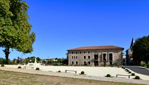 Photo l'esplanade du chateau