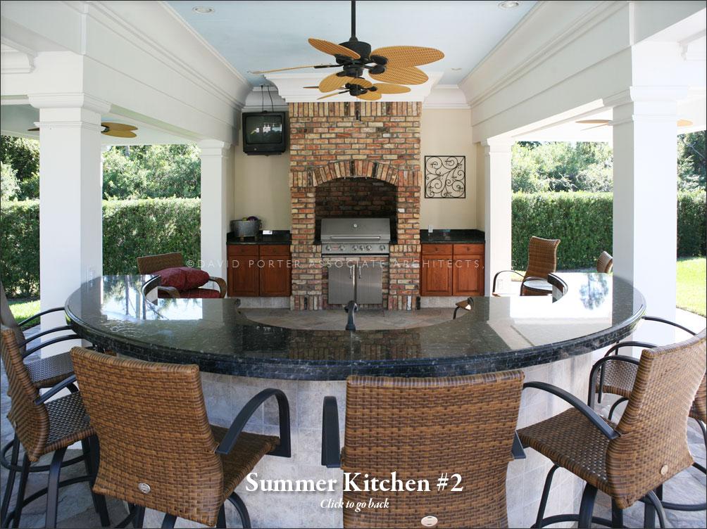 Bruce Summer Kitchen – David Porter Associates