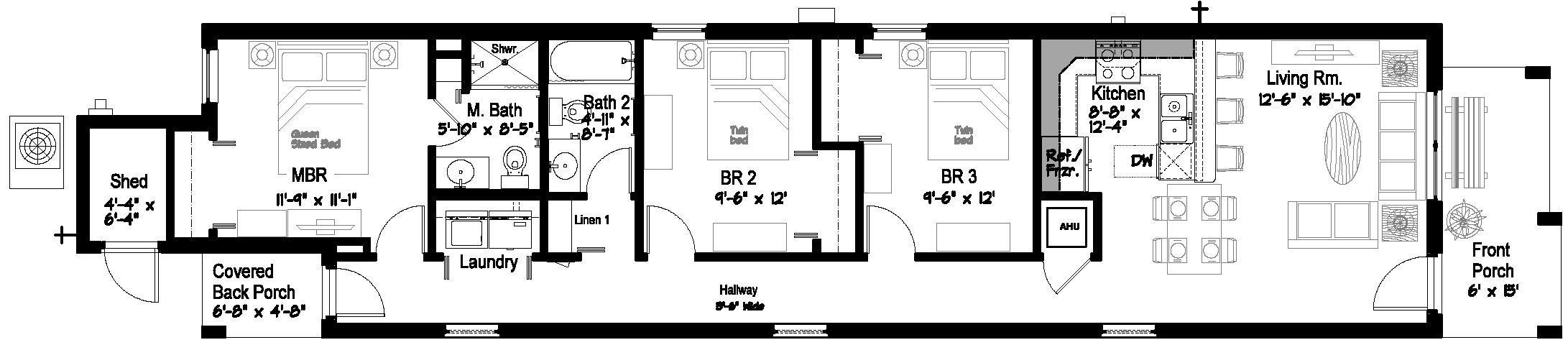 Habitat For Humanity Houses – David Porter Associates