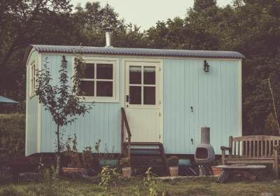 Tiny House. Marjolein woont vrijstaand voor 50.000 euro