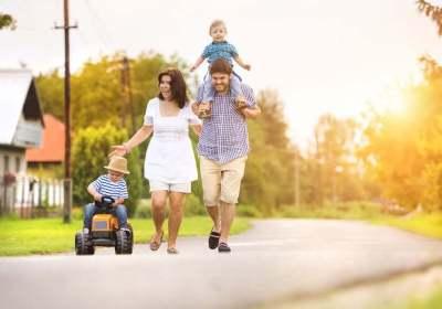 gezin hypotheek