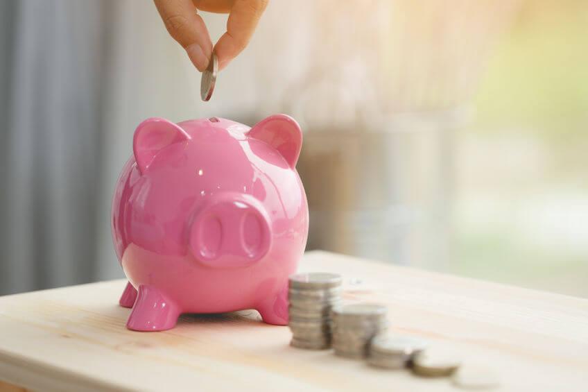 sparen minimaal inkomen
