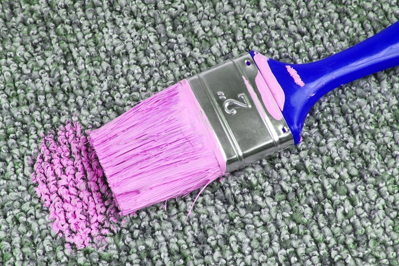 Advice on How to Get Acrylic Paint Out of Carpet