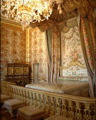 Passage secret drobe dans la chambre de la Reine