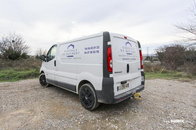 Décoration Renault Trafic Générale du Bâtiment par SUDETIC