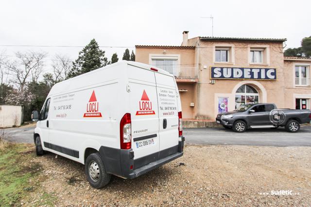 Découpe adhésive pour les camions Locli par SUDETIC