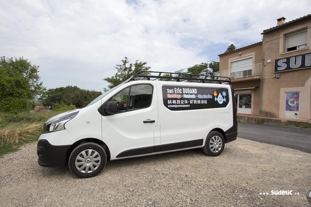 Déco Renault Trafic Eric Durand par SUDETIC