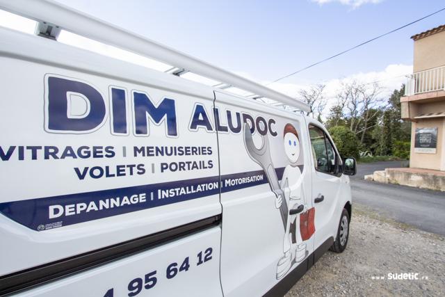 Décoration Renault Trafic Dim Aludoc par SUDETIC