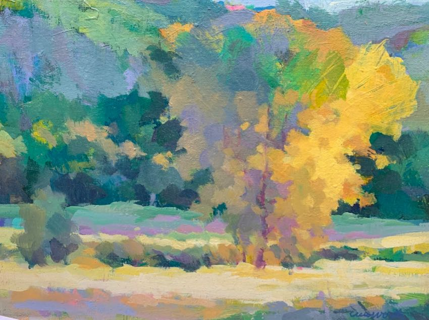 Autumn Gold Harvey Cusworth 12x16