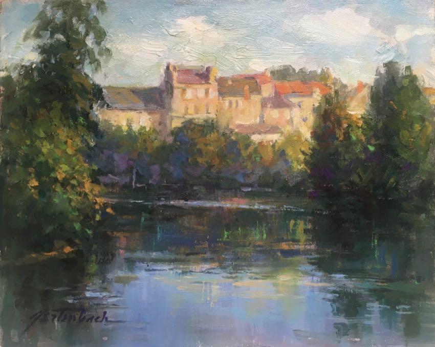 French River Lynn Gertenbach 8x10 oil