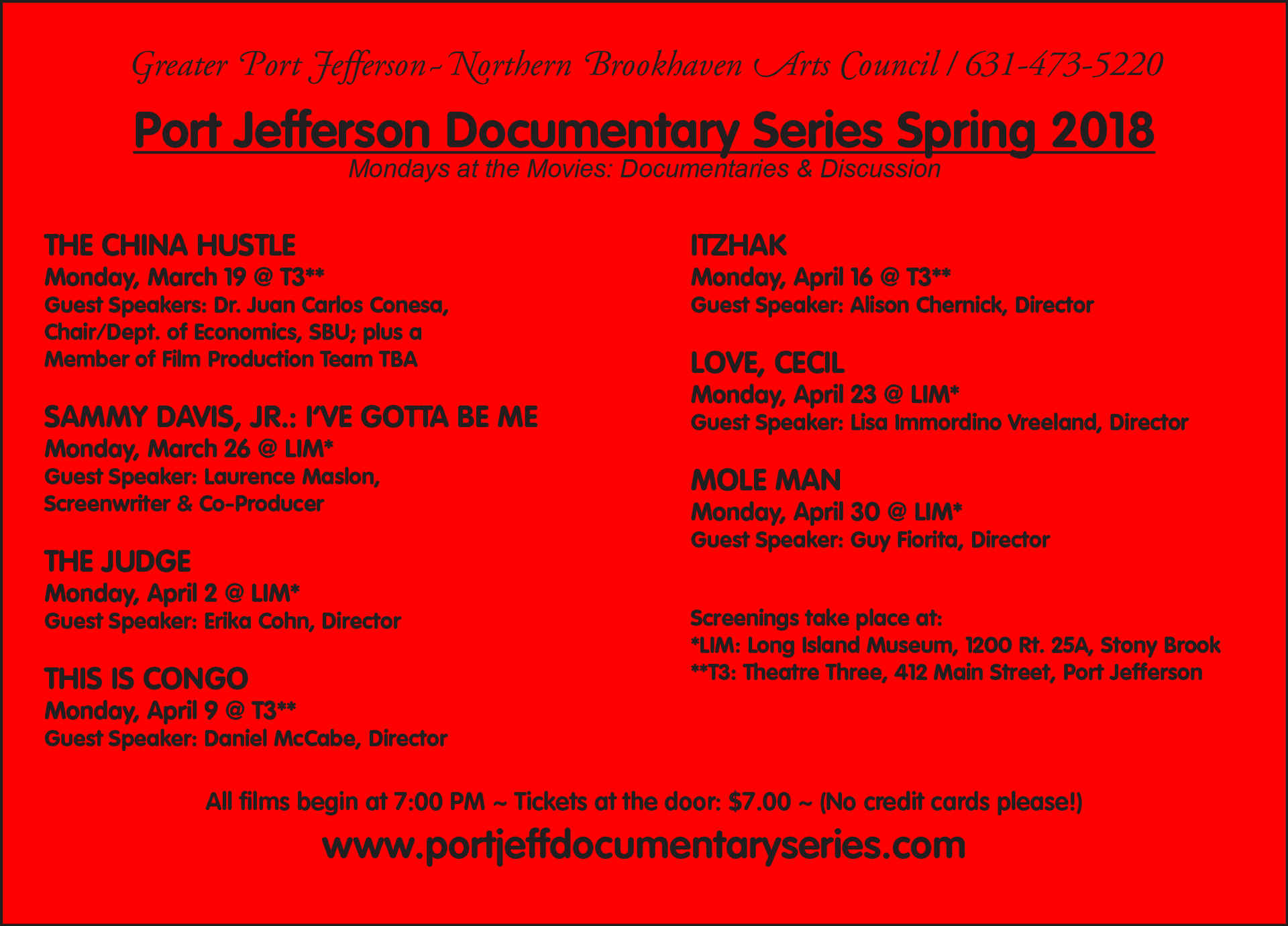 spring 2018 red card port jefferson documentary series