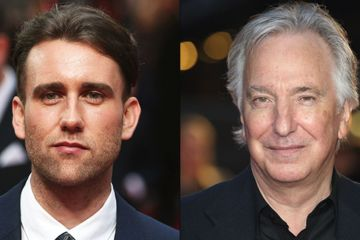 Harry Potter Matthew Lewis Alan Rickman