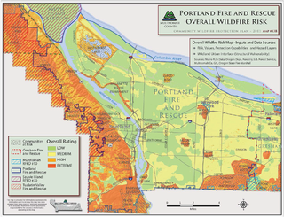 The oregon wildfire risk explorer is designed to increase wildfire awareness, give a comprehensive view of wildfire risk and local fire history,. Reducing The Risk Of Wildfire Portland Gov