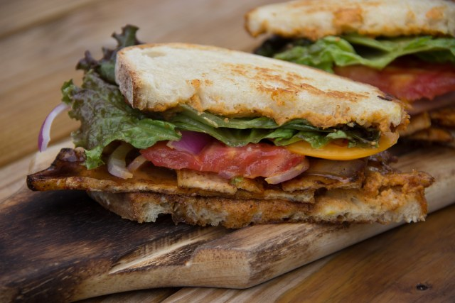 Jackfruit VEGAN Kitchen at Culmination Brewing Portland BLT Week 2017