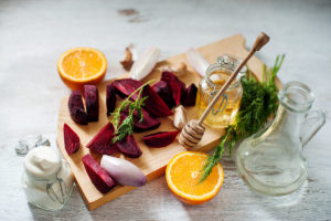 roasted beet vinaigrette