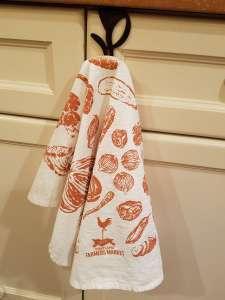 Veggie Kitchen Towel – Orange