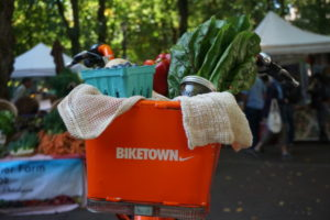 Biketown Bike at Shemanski Park Farmers Market