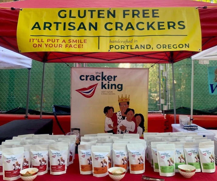 Cracker King booth