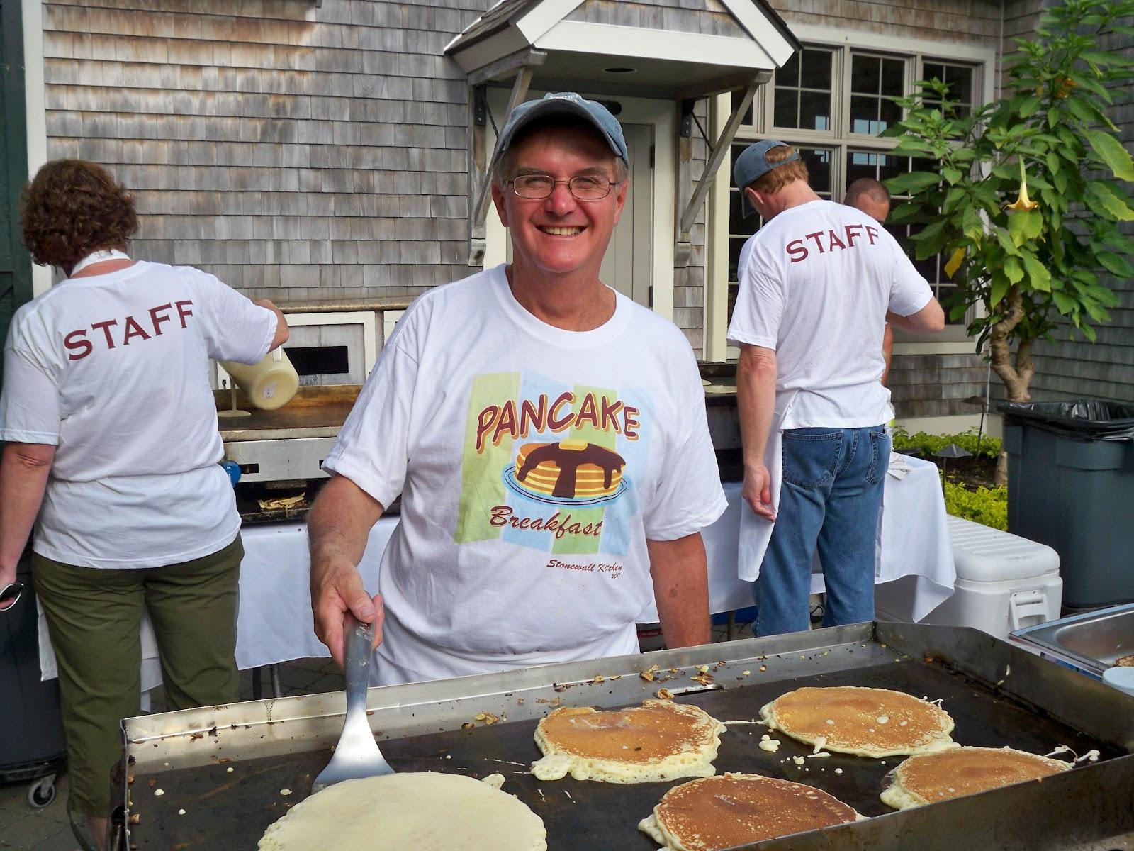 Stonewall Kitchens annual community Charity Pancake