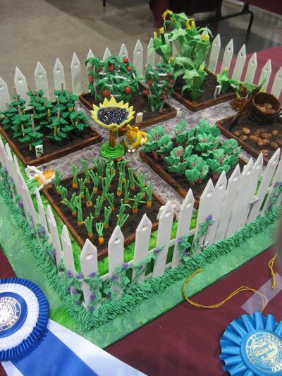 garden cake - Portland Mercury