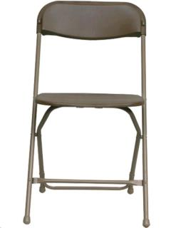chair rental milwaukee upholstery cost plastic folding rentals portland or where to rent brown in