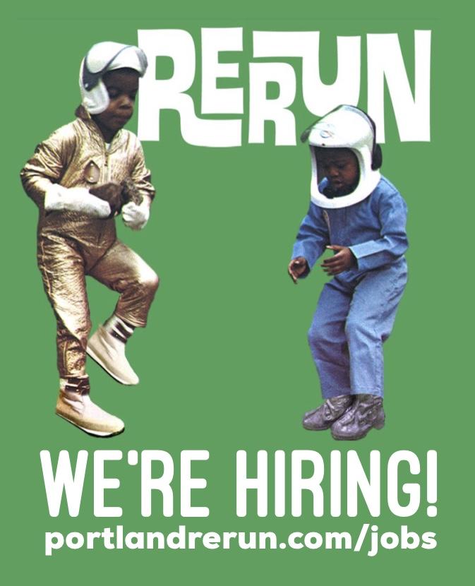 RERUN is Hiring!