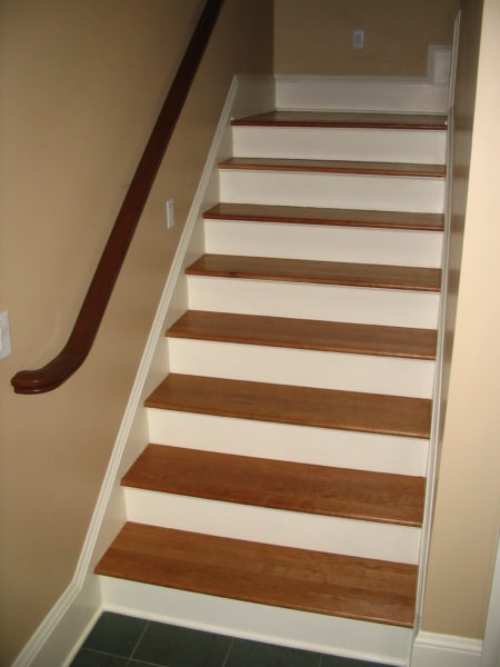 Replacing Stair Tread On Closed Stringer Stairs