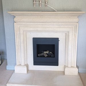 portland stone fireplace london
