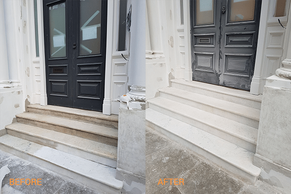 Marble Stone Before After