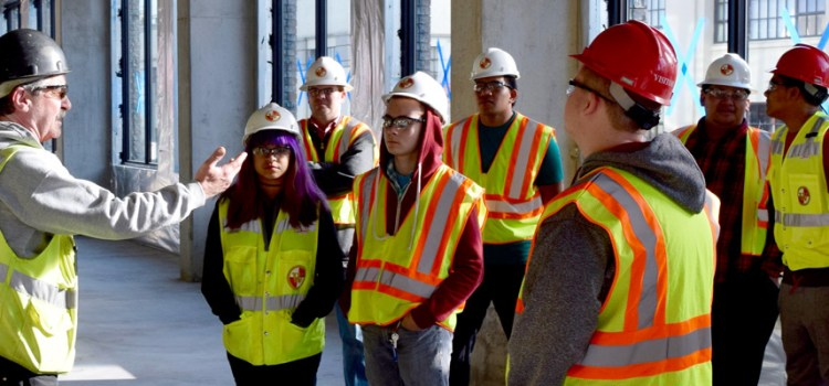 Paid summer job offers hands-on learning at summer construction camp