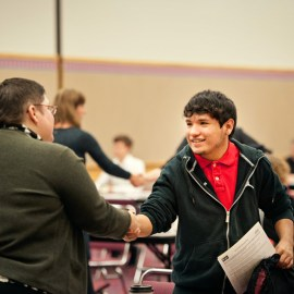 Record 1,200+ volunteers serve Portland high school students through PWA