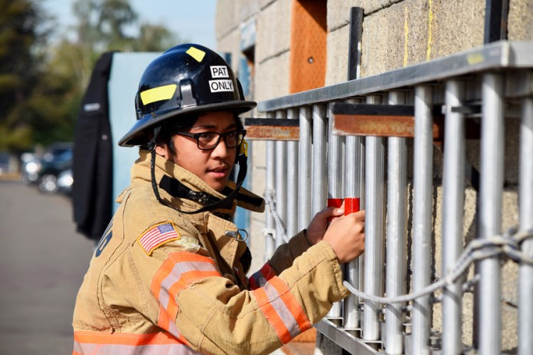 Portland Fire & Rescue Career Day, Oct. 2017