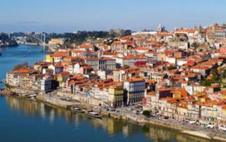 Porto picture from above