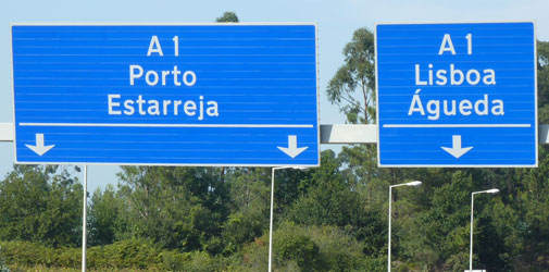 Driving From Porto To Lisbon What Are The Toll Charges On The A1